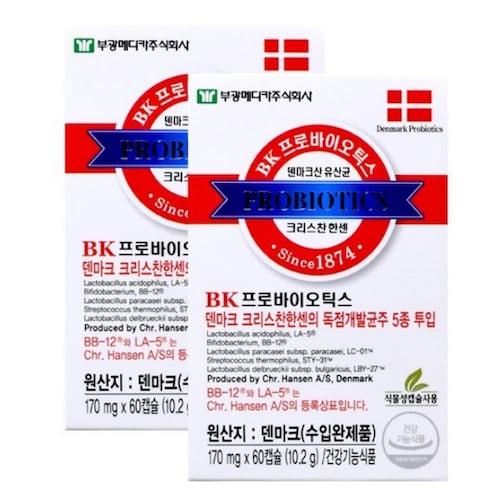 부광메디카 BK 프로바이오틱스 60캡슐 (1개)_이미지