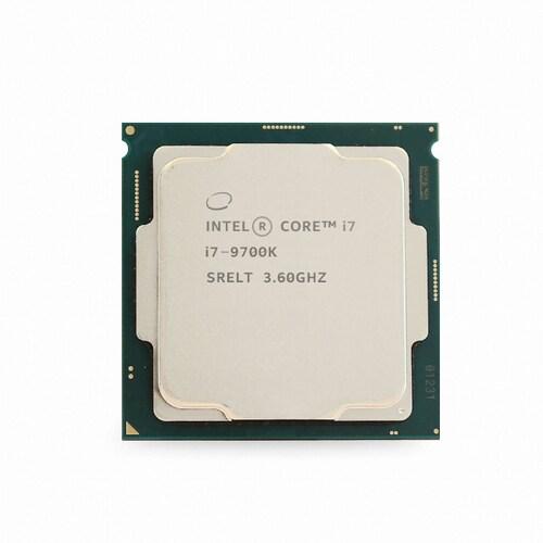 인텔 코어i7-9세대 9700K (커피레이크-R) (벌크 + 쿨러)_이미지