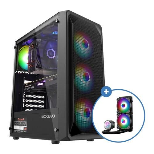 COOLMAX 가성비 NO.3 RGB + AID W240 aRGB (블랙 패키지)_이미지
