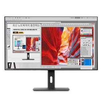 비트엠 Newsync 3280U 4K HDR 멀티스탠드 PD 무결점_이미지