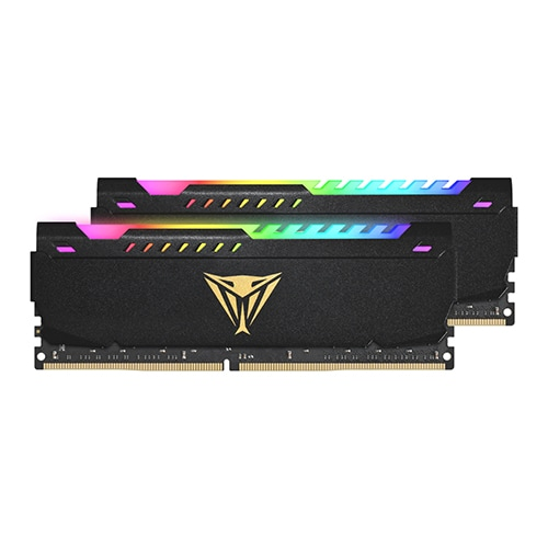 PATRIOT DDR4-3600 CL20 VIPER STEEL RGB 패키지 (64GB(32Gx2))