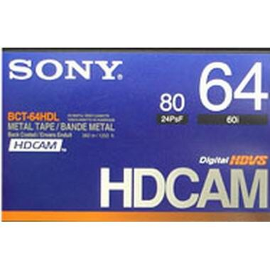 SONY HDcam 64분 DV테이프 BCT-64HD (2개)_이미지