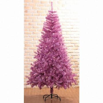 트리 핑크 반짝이 트리(210cm)