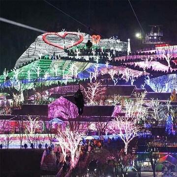 프로방스 빛축제 짚라인 패키지 이용권 (청도)(대인)