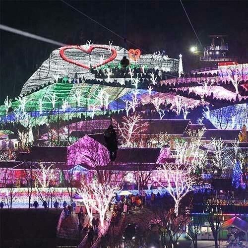 프로방스 빛축제 짚라인 패키지 이용권 (청도) (대인)_이미지