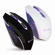 지클릭커 GM-E5000 LED 무소음 마우스 (블랙)