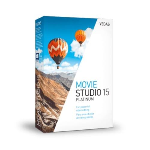 SONY Movie Studio 15 Platinum 기업용 (처음사용자용)_이미지