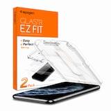 슈피겐 아이폰11 프로 글라스tR슬림 이지핏 액정보호필름  (액정 2매)