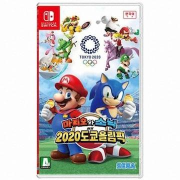 Nintendo 마리오와 소닉 AT 2020 도쿄 올림픽 SWITCH