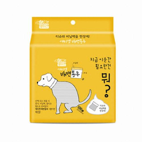 제이앤하이 펫아미고 배변봉투 100매(1개)
