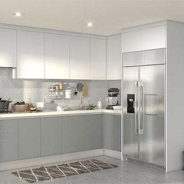 한샘 베리키친LITE ㄱ자 냉장고장형