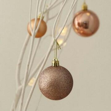 더플라워마켓 크리스마스 믹스볼 6cm(8개)