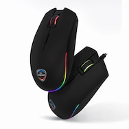 CJ ENM OGN M25 엔투스 RGB 배틀 게이밍 마우스