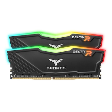 TeamGroup T-Force DDR4-3600 CL18 Delta RGB 패키지 (64GB(32Gx2))