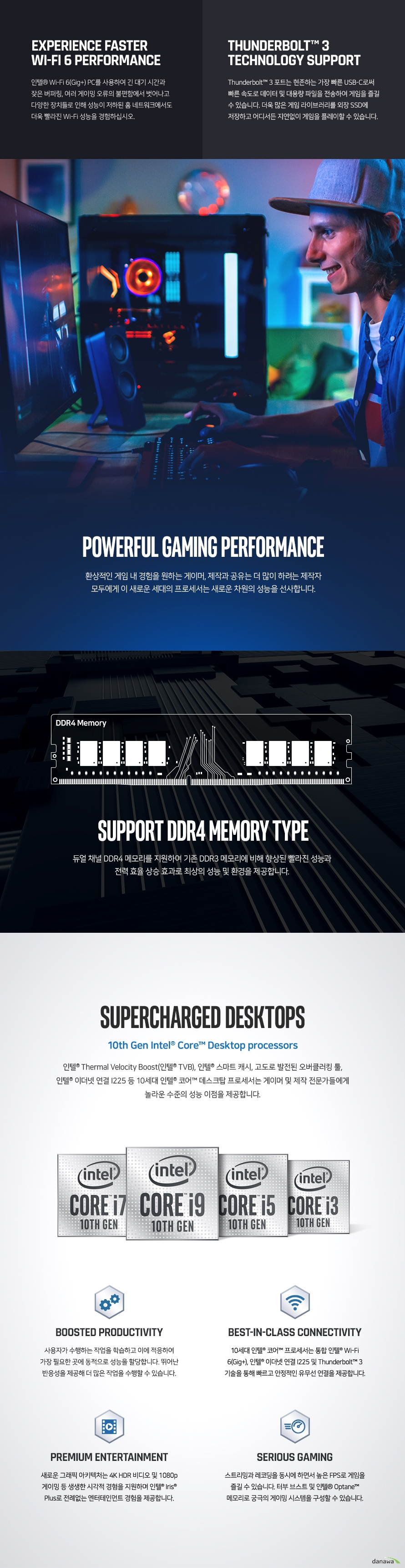 인텔 코어i3-10세대 10105F (코멧레이크S 리프레시) (병행수입 박스)