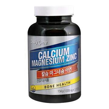 네이처스토리 데일리원 칼슘 마그네슘 아연 120정(1개)