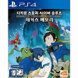 반다이남코 디지몬 스토리: 사이버 슬루스 해커스 메모리 PS4  (중고,한글판)