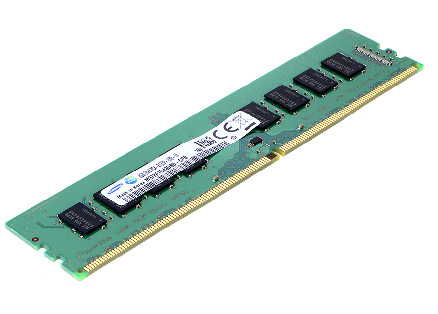 8GB의 메모리 용량으로 2,133MHz의 클럭 스피드를 보여줍니다.