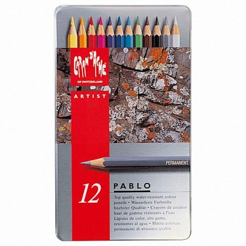 까렌다쉬 파블로 유성색연필 (12색)