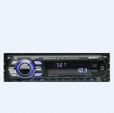 SONY MEX-DV1000 (단품, 레벨미터)_이미지