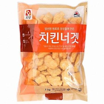 사조오양 치킨너겟 1kg(1개)