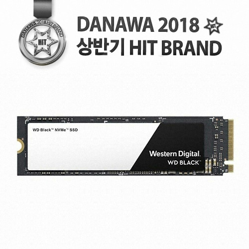 Western Digital WD BLACK 3D M.2 NVMe (250GB)_이미지