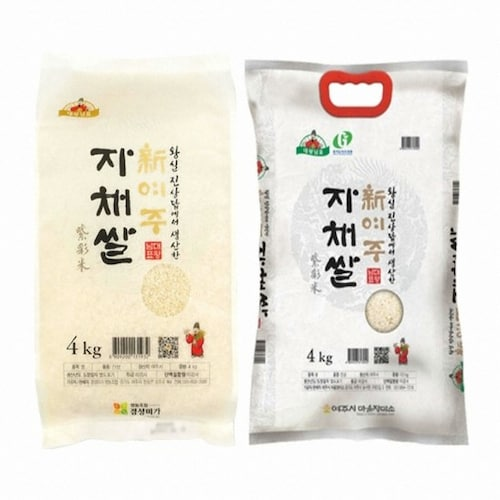 경성미가  신여주 자채쌀 히토메보레 4kg (1개)_이미지