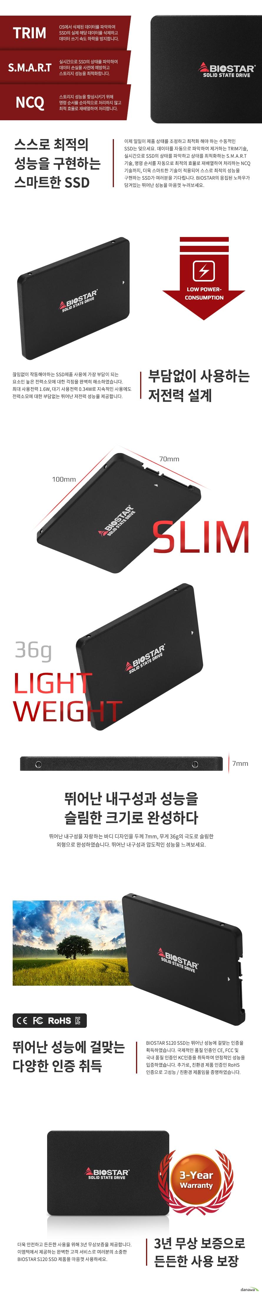 BIOSTAR S120 (256GB)