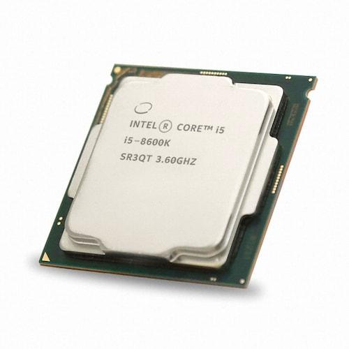 인텔 코어i5-8세대 8600K (커피레이크) (벌크)_이미지