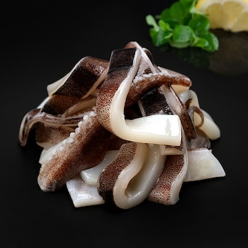 마칸 냉동 오징어채 1kg