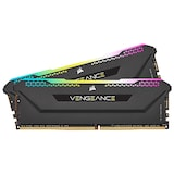 CORSAIR DDR4-3600 CL18 VENGEANCE RGB PRO SL BLACK AMD 패키지 (32GB(16Gx2))