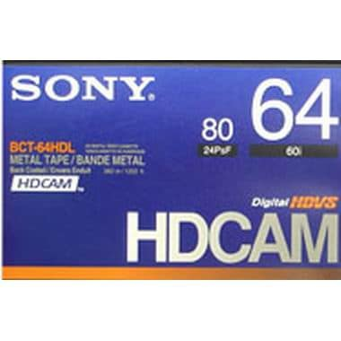 SONY HDcam 64분 DV테이프 BCT-64HD (5개)_이미지