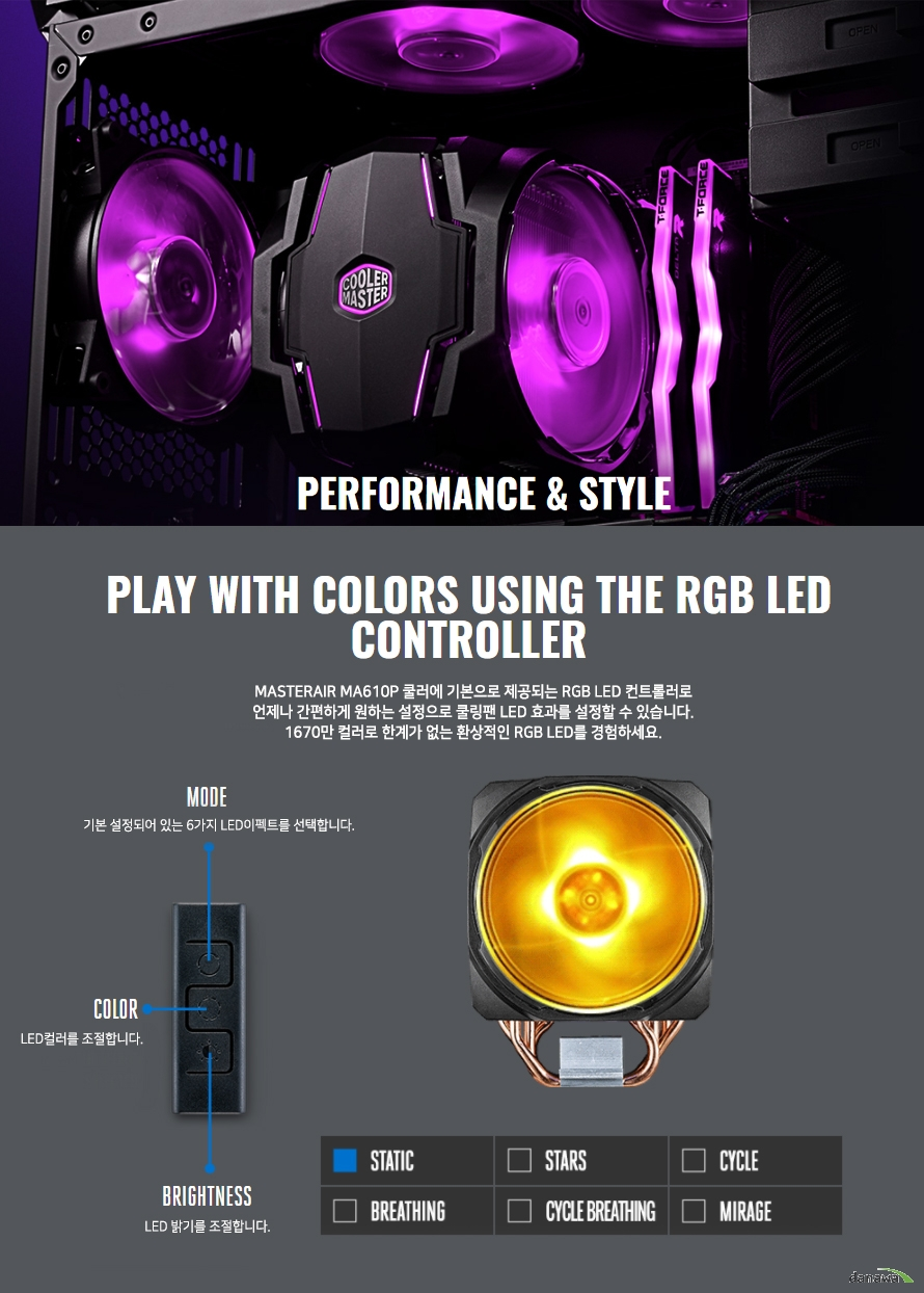 rgb in the palm of your hand with included wired rgb controller c10l