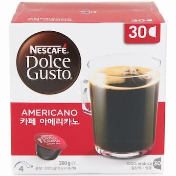 네스카페 돌체구스토 카페 아메리카노 30개입(1개)