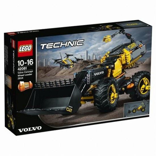 레고 테크닉 볼보 컨셉 휠 로더 (42081) (정품)