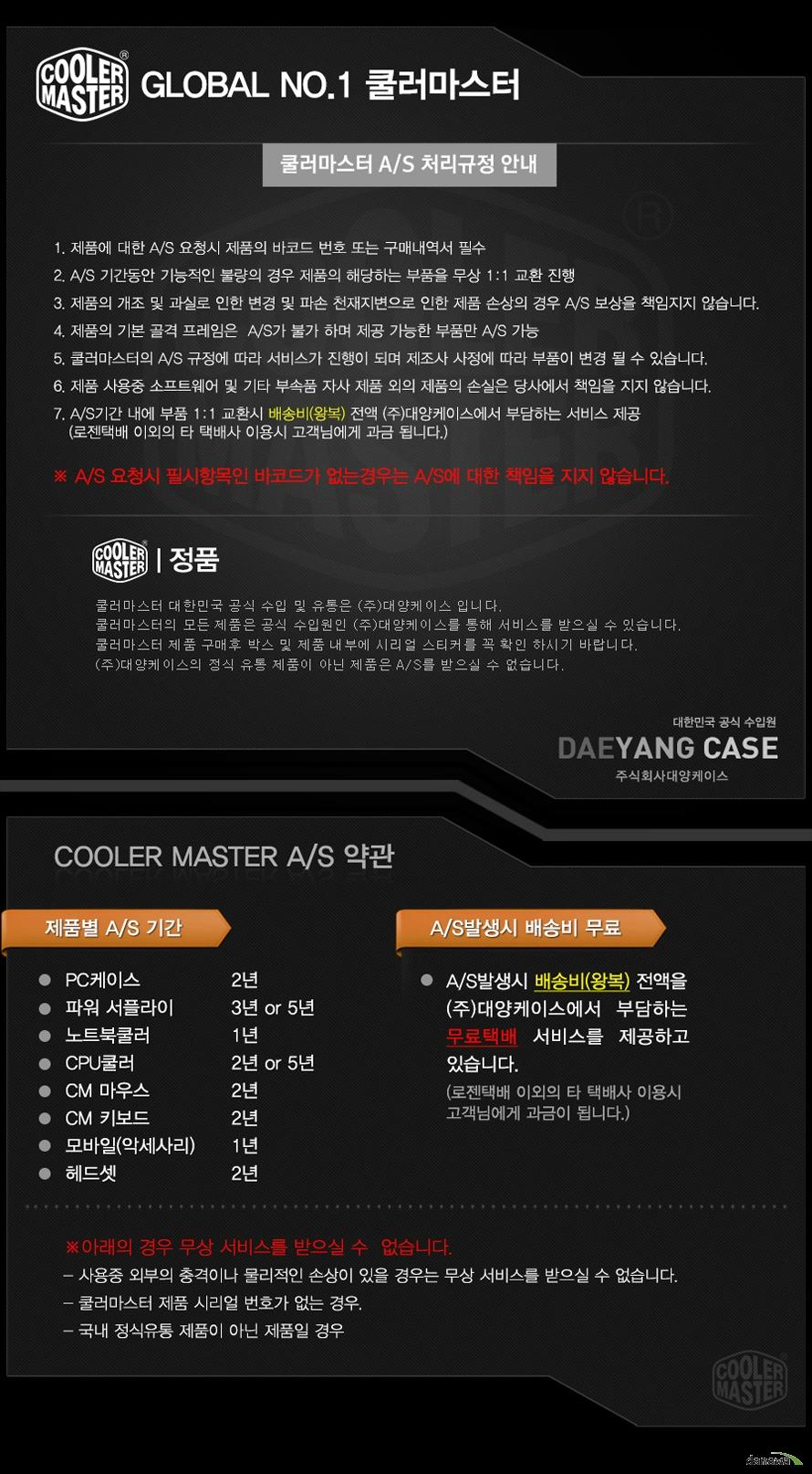 쿨러마스터  MasterBox CM694 STEEL