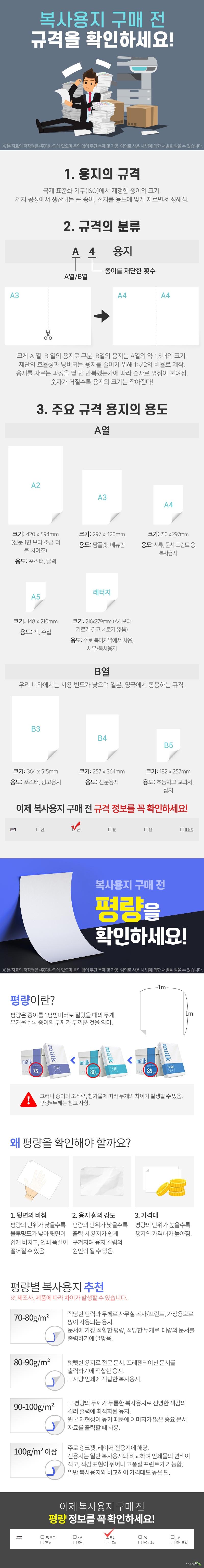 코닥 코닥 유니버셜 복사용지 A4 80g 박스 (2,500매)