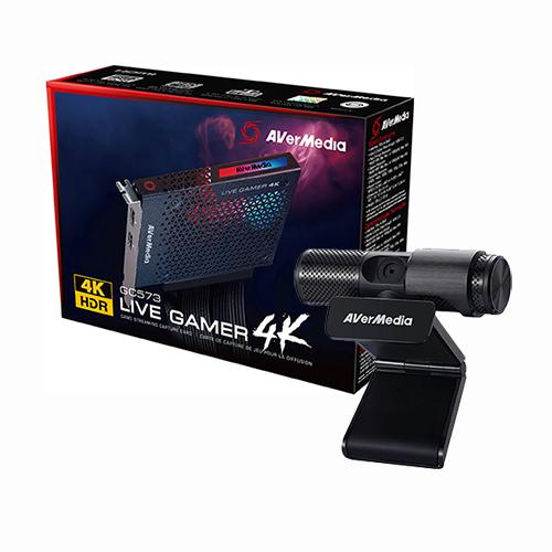 AVerMedia Live Gamer 4K + Live Streamer CAM 313