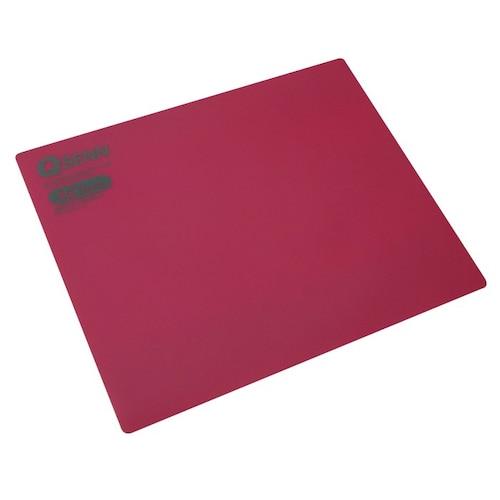 지피전자 QSENN 은나노 항균 실리콘 마우스패드 (Red)_이미지