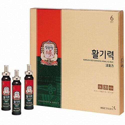 한국인삼공사 정관장 활기력 20ml 16병 (5개)_이미지