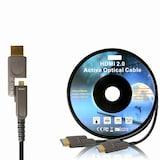 [이지넷유비쿼터스] HDMI 2.0a AOC 하이브리드 HDMI 케이블 (10m)