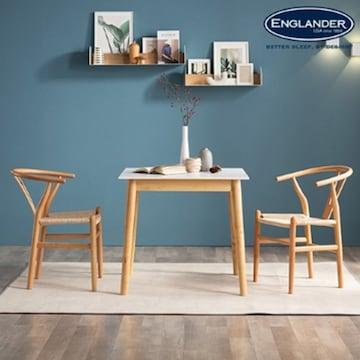 잉글랜더 알레그로 통세라믹 식탁세트 800 (의자2개)_이미지