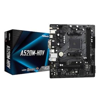 ASRock A520M-HDV 에즈윈