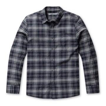 시리즈 블루그레이 멀티 체크 셔츠