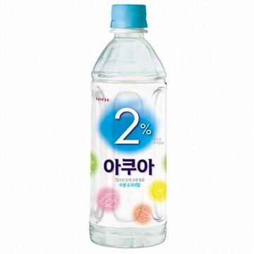 롯데칠성음료 2% 부족할때 아쿠아 500ml(24개)