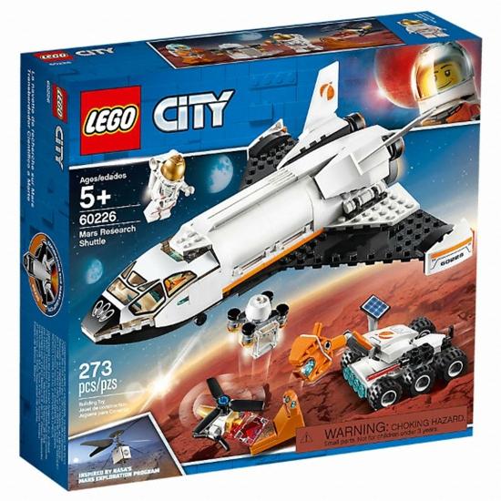레고 시티 화성 연구 셔틀 (60226) (해외구매)