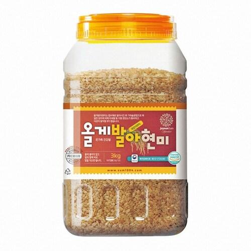 자연주의숨 올게발아현미 3kg (1개)_이미지