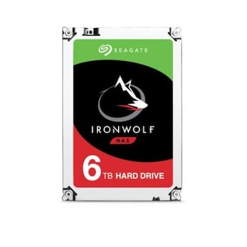 Seagate IronWolf 5400/256M (ST6000VN001, 6TB)