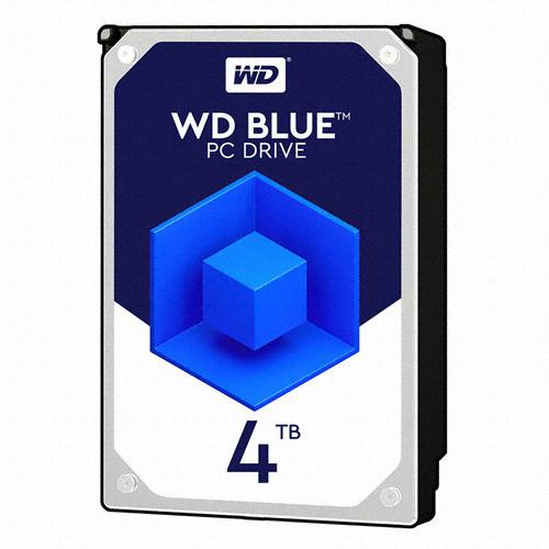 Western Digital WD BLUE 5400/64M(WD40EZRZ, 4TB)