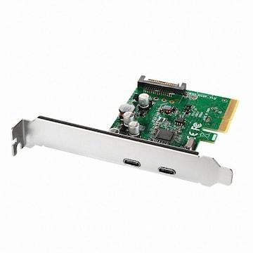 이지넷유비쿼터스 USB 3.1 Type C PCI-E 카드 (NEXT-322TCC)